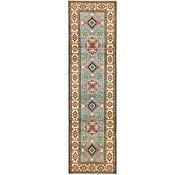 Link to 2' 8 x 9' 6 Kazak Oriental Runner Rug