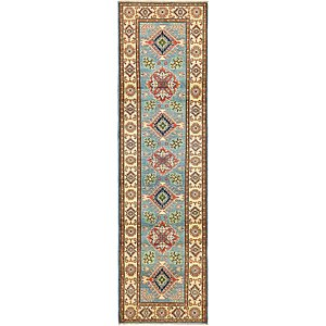 Unique Loom 2' 8 x 9' 6 Kazak Oriental Runner Rug