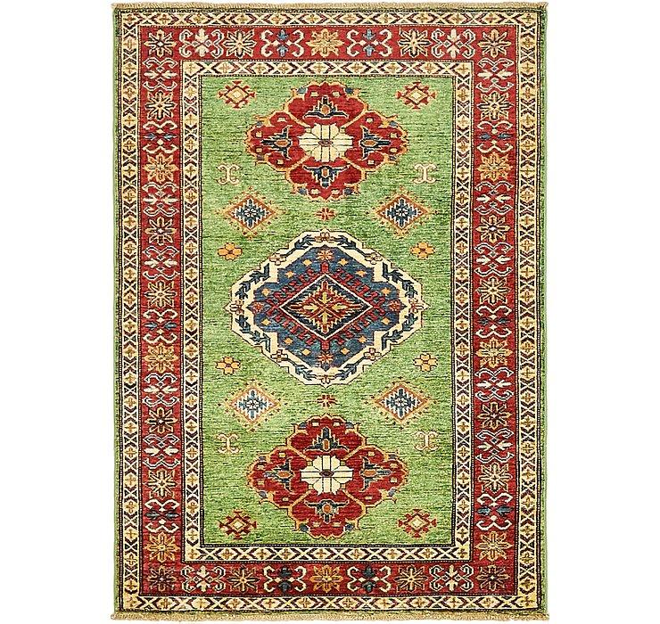 102cm x 145cm Kazak Oriental Rug