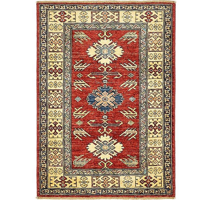 3' x 4' 2 Kazak Oriental Rug