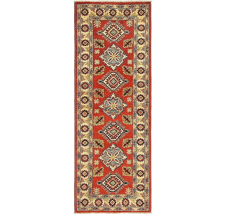 60cm x 175cm Kazak Oriental Runner Rug