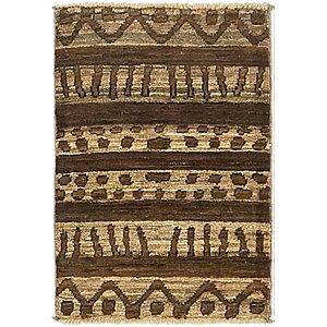 Unique Loom 1' 4 x 2' Modern Ziegler Rug