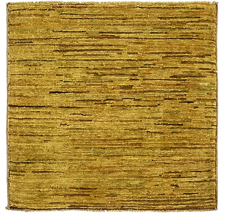 HandKnotted 2' x 2' Modern Ziegler Square Rug