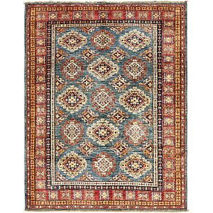 5' x 6' 6 Kazak Oriental Rug