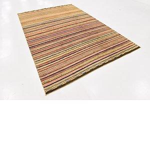 Unique Loom 6' x 8' 10 Modern Ziegler Rug