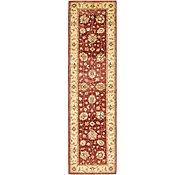 Link to 2' 8 x 9' 9 Peshawar Ziegler Oriental Runner Rug