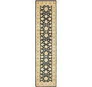 Link to 2' 6 x 11' Peshawar Ziegler Oriental Runner Rug