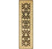 Link to 2' 8 x 9' 8 Peshawar Ziegler Oriental Runner Rug