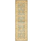 Link to 85cm x 295cm Peshawar Ziegler Oriental Runner Rug