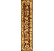 Link to 2' 10 x 14' Peshawar Ziegler Oriental Runner Rug