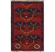 Link to HandKnotted 3' x 4' 8 Balouch Persian Rug