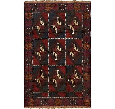 91x145 Balouch Rug
