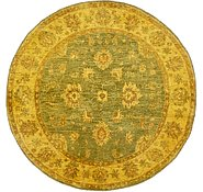 Link to 5' 2 x 5' 2 Over-Dyed Ziegler Round Rug