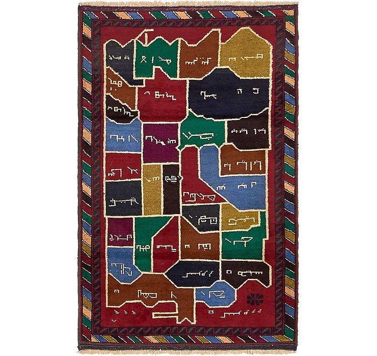 90cm x 145cm Balouch Persian Rug