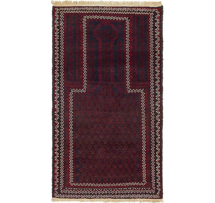 2' 7 x 5' Balouch Persian Rug