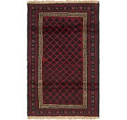 Link to HandKnotted 2' 10 x 4' 9 Balouch Persian Rug
