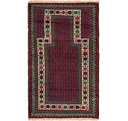 Link to 2' 9 x 4' 9 Balouch Persian Rug