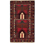 Link to 2' 10 x 5' Balouch Persian Rug