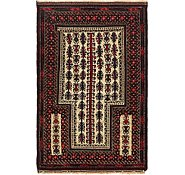 Link to Unique Loom 3' x 4' 7 Balouch Persian Rug