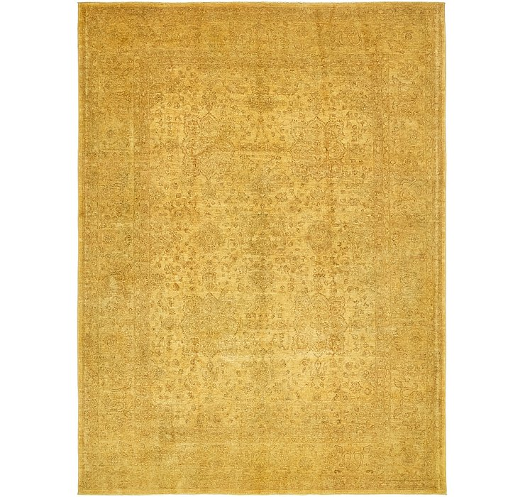 6' 10 x 9' 2 Over-Dyed Ziegler Rug