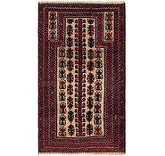 Link to 3' x 5' 5 Balouch Persian Rug