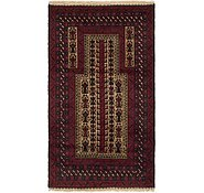 Link to 3' 10 x 5' Balouch Persian Rug