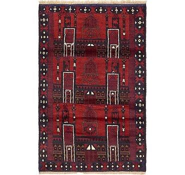 91x142 Balouch Rug