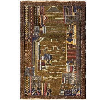91x135 Balouch Rug