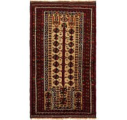 Link to 3' x 5' 6 Balouch Persian Rug