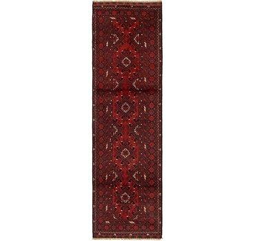 81x300 Afghan Akhche Rug