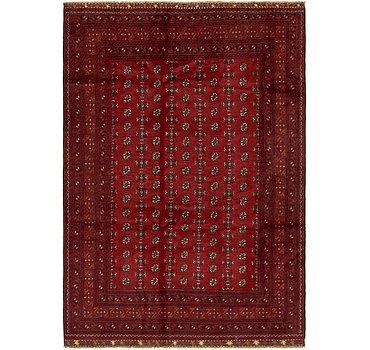 203x300 Afghan Akhche Rug