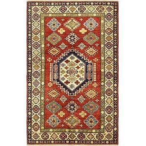 4' x 6' 3 Kazak Rug