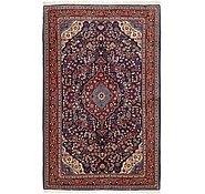 Link to 4' 6 x 7' Qom Persian Rug