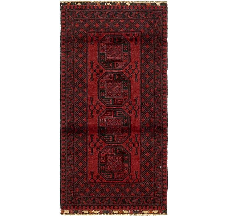 3' 3 x 6' 6 Afghan Akhche Rug
