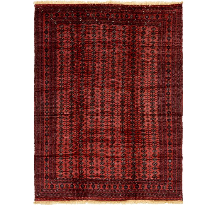 9' 6 x 12' 10 Torkaman Oriental Rug