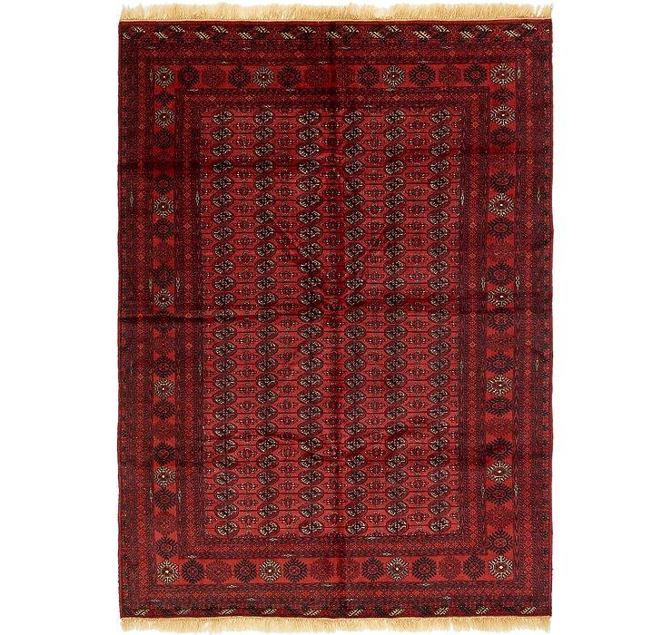 195cm x 287cm Torkaman Oriental Rug