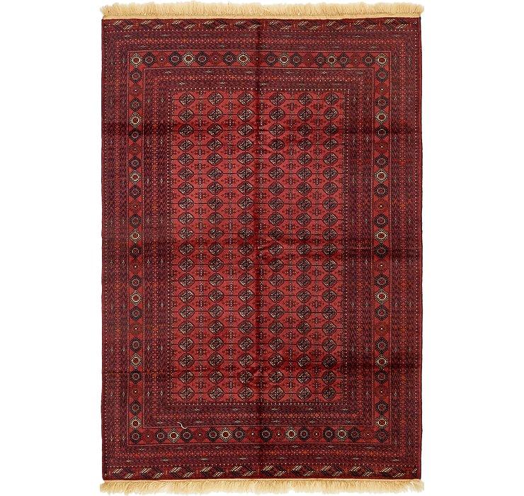 6' 7 x 10' Torkaman Oriental Rug