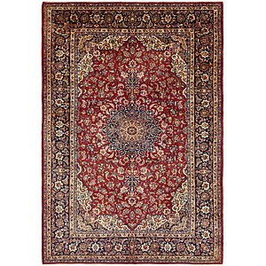 9' 7 x 13' 10 Isfahan Persian Rug