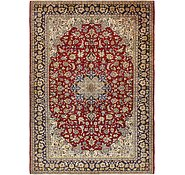 Link to 9' 9 x 13' 10 Isfahan Persian Rug