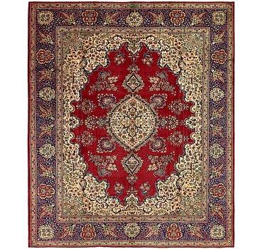 297x361 Tabriz Rug