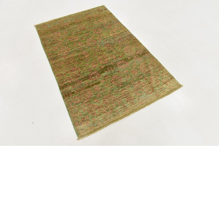 97cm x 140cm Over-Dyed Ziegler Rug