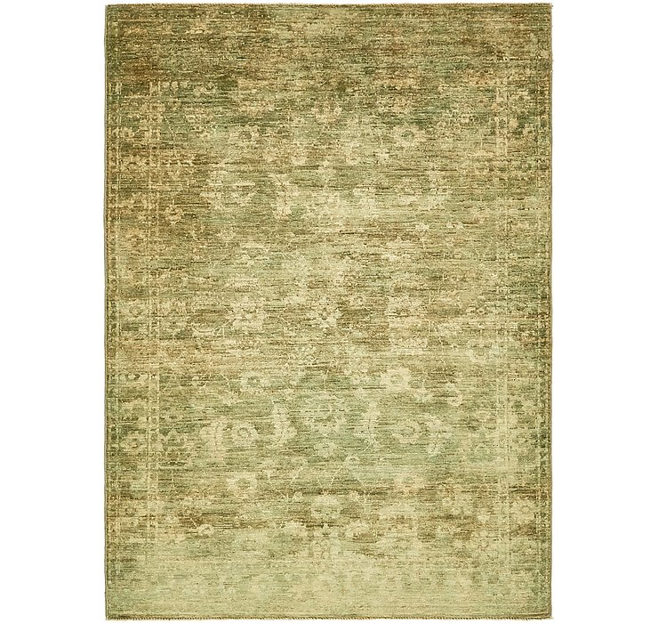 4' 3 x 5' 10 Over-Dyed Ziegler Rug