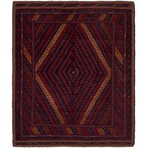 Unique Loom 5' x 6' 2 Sumak Rug