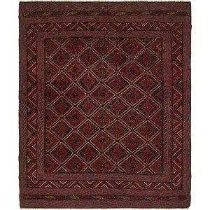 Unique Loom 5' x 6' Sumak Rug
