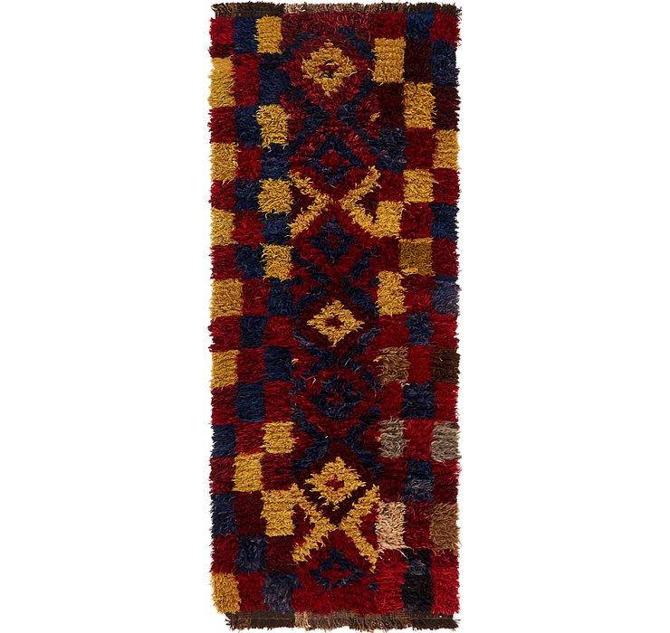 3' 8 x 9' 5 Moroccan Runner Rug