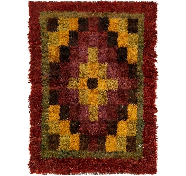 HandKnotted 6' x 8' 3 Moroccan Rug