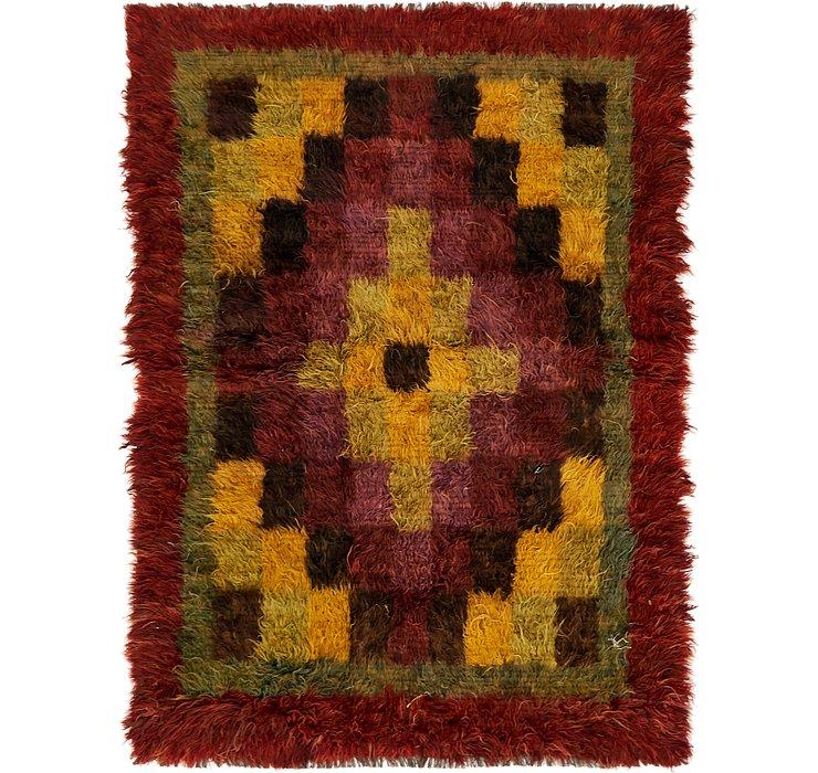 6' x 8' 3 Moroccan Rug