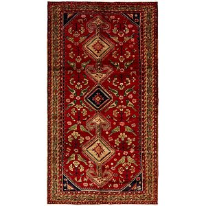 HandKnotted 5' 6 x 10' 6 Shiraz Persian Rug