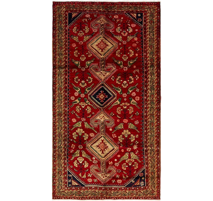 5' 6 x 10' 6 Shiraz Persian Rug