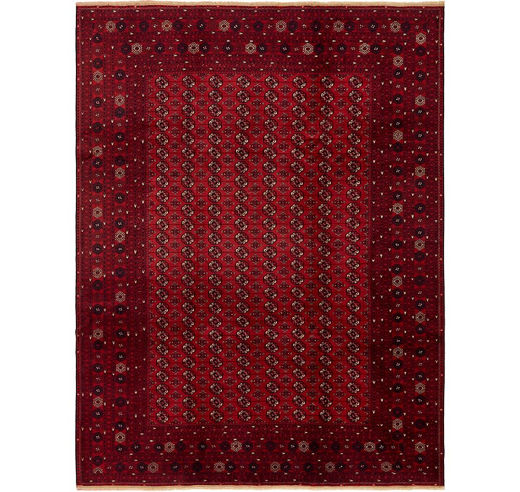 HandKnotted 8' 6 x 11' 4 Afghan Mouri Oriental Rug